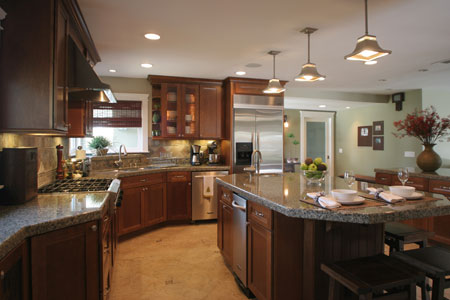 Easy and inexpensive decorating ideas chicago real for Beautiful kitchen remodels